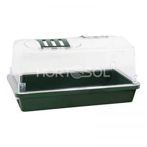 HORTOSOL XS mini serre de bouturage rigide 31x17,5x17,5 cm de la marque HORTOSOL image 0 produit