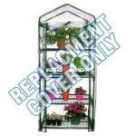 Housse de rechange en PVC transparent pour mini serre 4niveaux - H x L x P: 135 x 50 x 45cm de la marque Elitezotec © image 1 produit