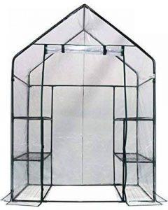 Housse de rechange en PVC transparent pour serre de jardin de la marque Elitezotec © image 0 produit