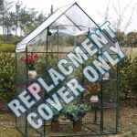 Housse de rechange en PVC transparent pour serre de jardin de la marque Elitezotec © image 2 produit