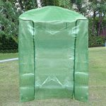 Housse en PVC - Serre végétale - Pour hiver - Contre le froid - De remplacement (seulement la housse, sans support en fer ni pots de fleurs) de la marque zyurong image 2 produit