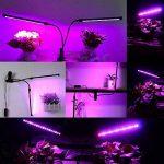 HUABEI Lampe de Plante LED Lampe de Croissance Bleu et Rouge for Fleurs Légumes Dimmable (12) de la marque HUABEI image 2 produit