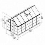 Hybrid 6,84 m² Hybrid6x12_4 de la marque Palram image 4 produit