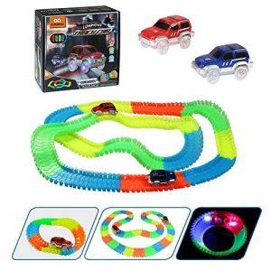 infinitoo 220pcs Tracks Magiques Circuit de Voiture Flexible Tracks Car de la marque infinitoo image 0 produit