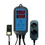 Inkbird IHC-200100–265V Digital Air Humidité Régulateur fiche hygromètre contrôleur humidification & deumidificazione avec capteur sonde de la marque Inkbird image 2 produit