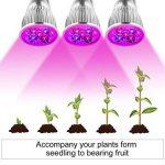 JOYOOO 3-Tête Lampe de Croissance Plante, Lampe de Croissance 15W 360 Degrés Flexible,trois commutateurs de commande séparée,pour la floriculture, le jardinage, semis de graines de la marque JOYOOO image 1 produit