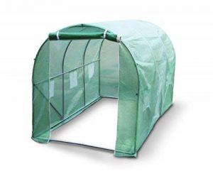 Kenley 3 x 2 m Jardin Serre Tunelle Polytunnel – Insectes Oiseaux Protection - Fort Acier Inoxydable 25 mm de la marque Kenley image 0 produit