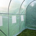 Kenley 3 x 2 m Jardin Serre Tunelle Polytunnel – Insectes Oiseaux Protection - Fort Acier Inoxydable 25 mm de la marque Kenley image 3 produit