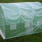 Kenley 3 x 2 m Jardin Serre Tunelle Polytunnel – Insectes Oiseaux Protection - Fort Acier Inoxydable 25 mm de la marque Kenley image 4 produit