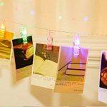 King Age LED Photo Clips Lumière Chaînes–40photo Clips 5m Batterie fonctionnant Éclairage d'ambiance décoration pour photo suspendu Memos oeuvres d'art de la marque cdsnxore® image 3 produit