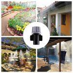KING DO WAY Kits d'irrigation, Système d'arrosage DIY Pour Irrigation Arrosage Brumisation Jardin Serre (10 Mètres Tuyau avec 10 Micro Buses de Gicleurs) de la marque KING DO WAY image 4 produit