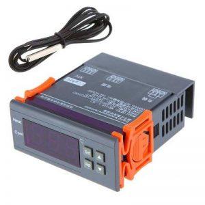 KKmoon 200-240V Numérique Contrôleur de température Thermocouple de -40℃ à 120℃ avec Capteur de la marque KKmoon image 0 produit