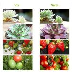 Lampe de Croissance,15W Lampe de Plante avec Cou de Cygne Flexible 360 ° pour des Plantes ,des Fleurs et des Légumes Intérieur/de Serre (Lampe -15W) de la marque yagood image 1 produit