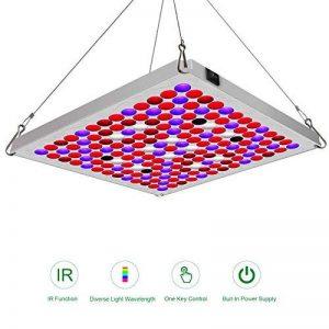 Lampe pour Plante 75W TOPLANET, Mettre à Jour Plante LED Horticole Lampe Croissance avec IR Bleu Rouge Lumière pour Intérieur/Serre/Hydroponique/Grow Box Culture de la marque TOPLANET image 0 produit