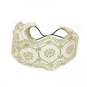 Large Bandeau Serre Tête à Cheveux Hoop Dentelle Corde élastique Déco Femme de la marque Pinzhi image 0 produit