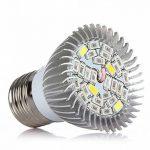 Led Ampoule de Croissance pour plantes | 28W | Full Spectrum | clair | haute efficacité d'éclairage pour jardin, serre et culture hydroponique plantes aquatiques de la marque Vuxio image 2 produit