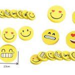 Licorne Bracelets Serre-Poignets Rubber Wristband Gomme Emoji Smiley Caoutchouc Eraser Flexible Bendy Crayon à Papier Pliable Souple École Classe Récompense Prix Anniversaire Sac de Fête Remplissage Faveur Cadeau Jouet Fournitures de la marque iLoveCos image 3 produit
