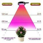 Lifebee 8W LED Plante végétation lampe horticole intérieure/pince lampe de croissance 2 au niveau de la marque Lifebee image 4 produit