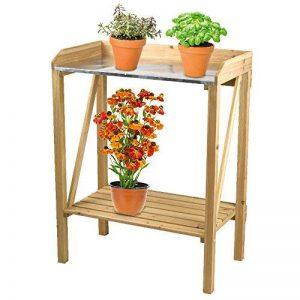 Lifetime Garden Table de rempotage pour semis et plantation nature - 70x45x90cm de la marque Lifetime Garden image 0 produit