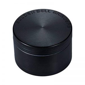 """LIHAO Grinder Garrantie à Vie, 2""""(5cm) Grinder en Zinc Alliage en 4 Pièces - Noir de la marque LIHAO image 0 produit"""