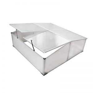 lingjiu Shopping fr ¨ ¹ hbeet avec 4couvercles Matériau: Polycarbonate Dimensions: 108x 41x 110cm (bxhxl) de la marque Lingjiushopping image 0 produit