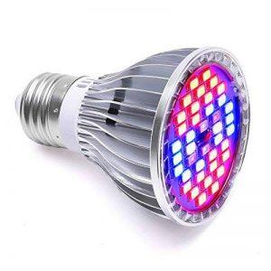 LONGKO 30W 40LED Ampoule Lampe de Croissance Eclairage E27 pour Plant Avec 7 Longueur d'Onde AC 85-265V pour des Plantes,des Fleurs et des Légumes Intérieur/de Serre/de Jardin de la marque LONGKO image 0 produit