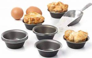 Lot de 12 moules Pastel de Nata muffin cupcake antiadhésif de la marque Maxi Nature image 0 produit