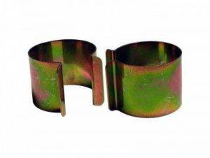 Lot de 20 clips métal revêtement Zinc 35mm x 30mm pour serre de la marque Bâches Direct image 0 produit