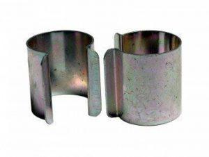 Lot de 20 clips métal revêtement Zinc 25mm x 30mm pour serre de la marque Bâches Direct image 0 produit