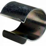 Lot de 20 clips métal revêtement Zinc 25mm x 30mm pour serre de la marque Bâches Direct image 1 produit