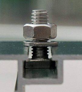 Lot de 20 hammerkopfschrauben avec écrous en acier inoxydable pour serre de la marque KGT image 0 produit