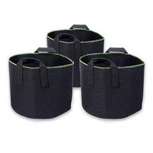 Lot de 3sacs de plantation Schramm - 60litres chacun - Non tissés - Pour pot de fleurs de la marque Schramm image 0 produit