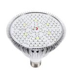 Lumière De Plante 30W 50W 80W E27 LED Pleine Spectrum Lampe De Croissance De Plantes Horticulture Ampoule Pour Jardin ( Edition : 80w ) de la marque Yosoo image 2 produit