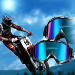 Lunettes de Ski,Goggles de Protection ISIYINER Lunette de Snowboard Moto Motoneige Anti-UV Anti-Poussière Anti-Résistant Anti-Abrasion Anti-brouillard Masques pour Adolescents Homme Femme Couleur Blanc de la marque ISIYINER image 3 produit