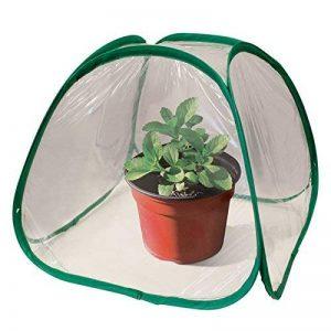 Mini Pop Up Serre–pour terrasses à l'extérieur ou à l'intérieur de la maison Plant protection de la marque Schöne Products (UK) image 0 produit