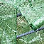 Mini serre, petite Plante les serres, pieds de rack à 4étages Portable Garden Green House pour usage intérieur et extérieur, 68,6cm de long x 48,3cm de large x 154,9cm haute de la marque Sue Supply image 4 produit