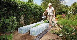 Mini serre-tunnel de jardin - De qualité supérieure - Pour la protection des plantes de la marque Original Organics image 0 produit