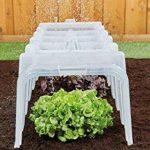 Mini serre-tunnel de jardin - De qualité supérieure - Pour la protection des plantes de la marque Original Organics image 2 produit