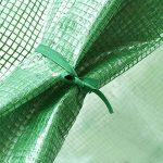 Mlec tech Mini Serre de Jardin Serres de Petite Plante le Support en Fer n'est pas Inclus Maison Verte de Jardin Pour Extérieur et Intérieur de la marque Mlec tech image 4 produit