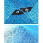 NAN 85% Protection Contre Le Soleil Tissu d'ombrage Isolation de cryptage à 6 Broches avec la rondelle de terrasse de Jardin Voiles d'ombrage (Taille : 2x4m) de la marque Filet d'ombrage image 2 produit