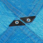NAN 85% Protection Contre Le Soleil Tissu d'ombrage Isolation de cryptage à 6 Broches avec la rondelle de terrasse de Jardin Voiles d'ombrage (Taille : 2x4m) de la marque Filet d'ombrage image 1 produit