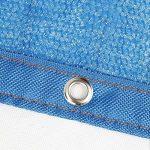 NAN 85% Protection Contre Le Soleil Tissu d'ombrage Isolation de cryptage à 6 Broches avec la rondelle de terrasse de Jardin Voiles d'ombrage (Taille : 2x4m) de la marque Filet d'ombrage image 4 produit