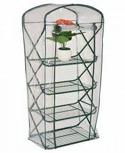 nanook Margot – Serre en film plastique, serre pour tomates – 4 étages, balcon et terrasse – film en PVC transparent de la marque nanook image 0 produit
