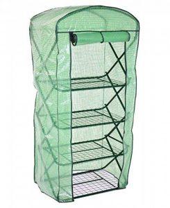 nanook Margot – Serre en film plastique, serre pour tomates – 4 étages, balcon et terrasse – film en polyéthylène de la marque nanook image 0 produit
