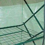 nanook Margot – Serre en film plastique, serre pour tomates – 4 étages, balcon et terrasse – film en polyéthylène de la marque nanook image 4 produit