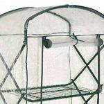 nanook Margot – Serre en film plastique, serre pour tomates – 4 étages, balcon et terrasse – film en PVC transparent de la marque nanook image 2 produit