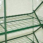 nanook Margot – Serre en film plastique, serre pour tomates – 4 étages, balcon et terrasse – film en PVC transparent de la marque nanook image 3 produit