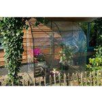 Nature - Serre souple adossée 200 x 100 x 215 cm - 2 m² de la marque Nature image 2 produit