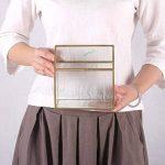 NCYP en forme de maison Close en verre géométrique Terrariumn de table Plante à fleurs Moss Fern avec couvercle basculant ¡ de la marque NCYP image 3 produit