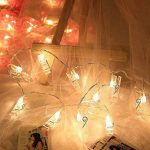 Noël LED Photo Clip Chaîne Lights, éclairage d'ambiance décoration photo 20 LED, lumière lumière Stern lumière, lumière à piles Décoration Murale pour photos peinture images suspendue Carte et Memos, de la marque Jiaguan image 3 produit